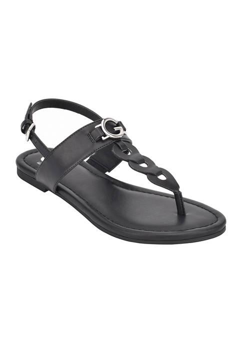 GUESS® Lustur Flat Sandals