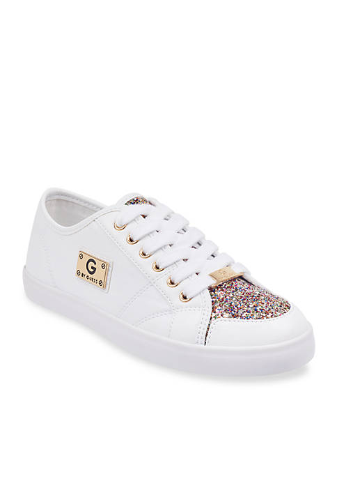 G by GUESS Matrix Low Top Glitter Sneaker
