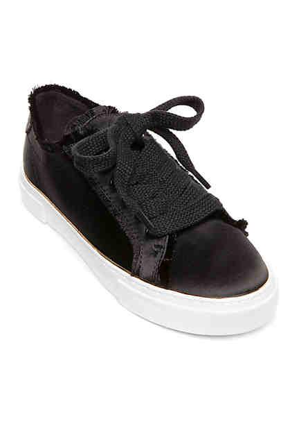GUESS Goodfun Satin Fray Sneakers