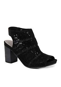Iddah Stacked Heel Sandal