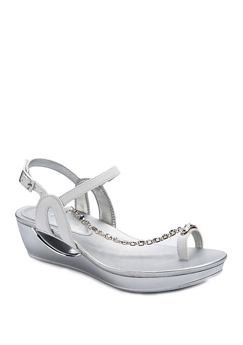 Casidy Fashion Low Wedge Sandals