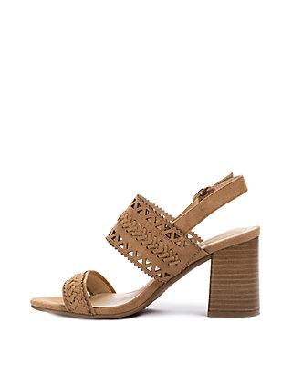 684338ece70 ... Andrew Geller® Erdana Block Heel Sandals ...