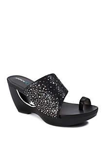 Andrew Geller® Aralyn Fashion Platform Sandals