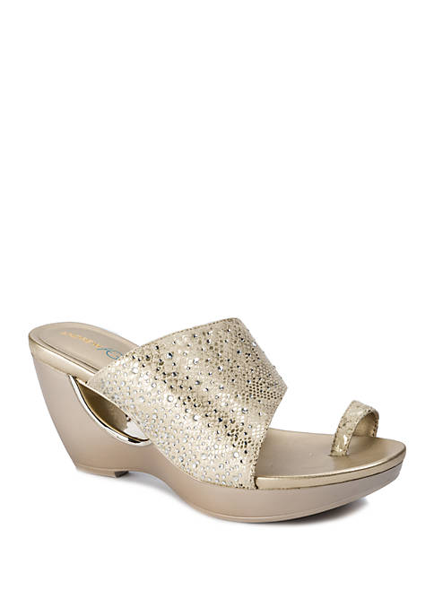 Andrew Geller® Aralyn Fashion Platform Sandal