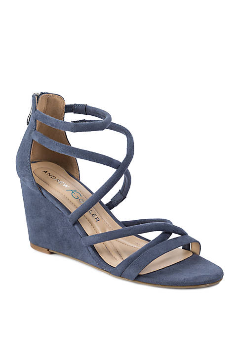 Bellona Strappy Wedge Sandals