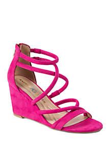 9736c659cd8d Birkenstock Buckley Sand Sandals · Andrew Geller® Bellona Strappy Wedge  Sandals