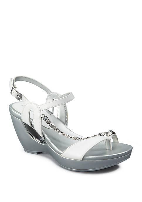 Andrew Geller® Alya Fashion Platform Sandals