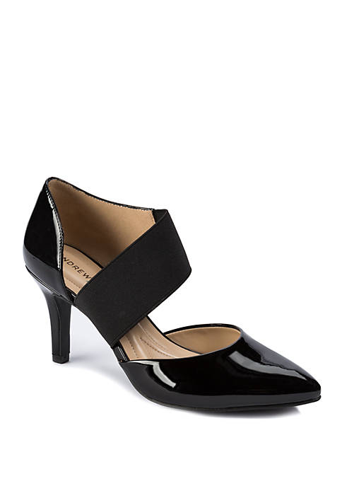 Andrew Geller® Maresa Slip On Dress Pumps