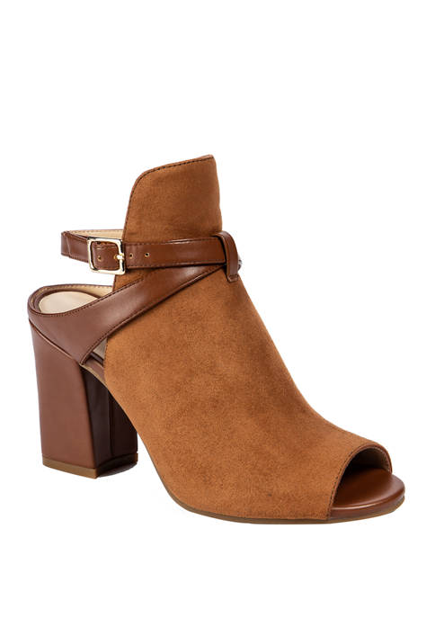 Andrew Geller® Bella Ankle Strap Heels