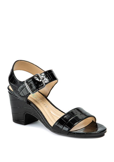 Andrew Geller® Burbank Wedge Sandals