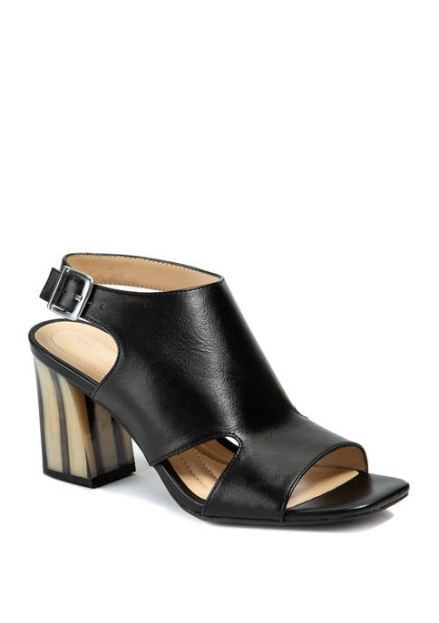 Castle Heeled Sandals