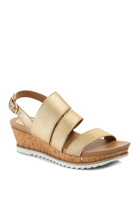 Andrew Geller® Gessica Wedge Sandals