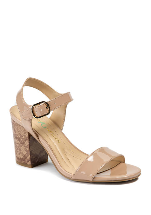 Andrew Geller® Fayer Heeled Sandals