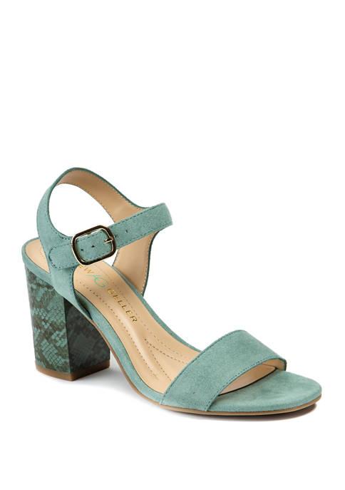 Andrew Geller® Fayer Heeled Sandals