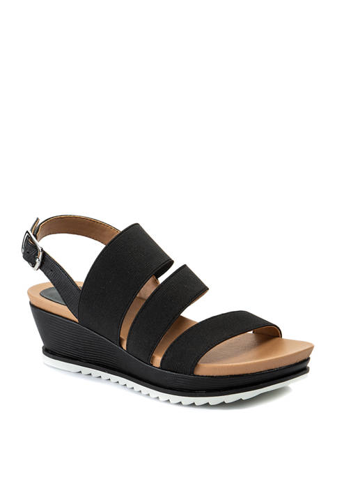 Andrew Geller® Gessica Wedge Sandals