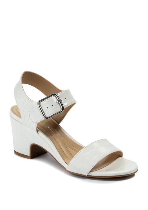 Andrew Geller® Burbank Wedge Sandals