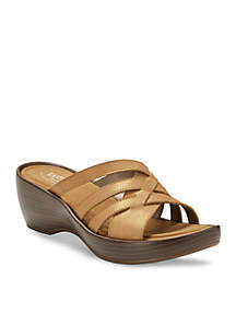 Poppy Wedge Sandal