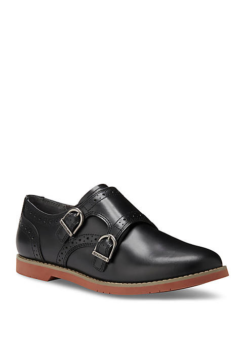 Eastland® Goldie Monk Strap Slip On Oxfords