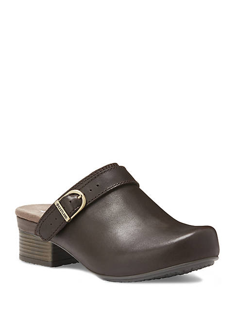 Eastland® Adele Strap and Buckle Clogs