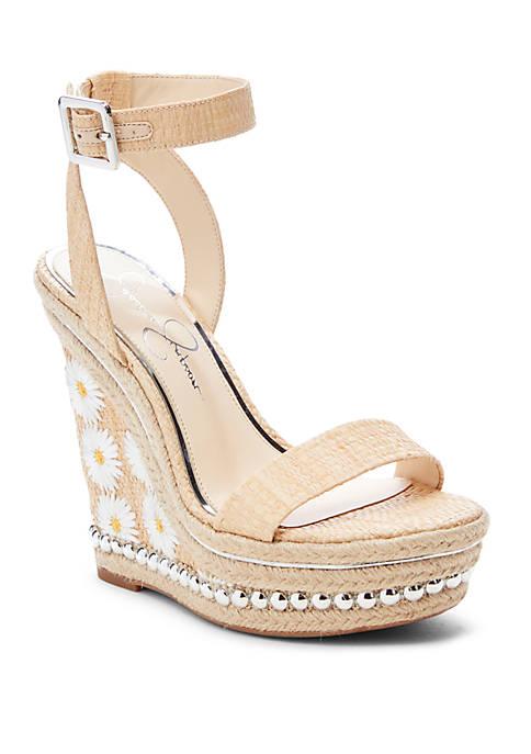 Alinda Wedge Sandals