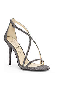 High Heel Criss-Cross Strap Sandal