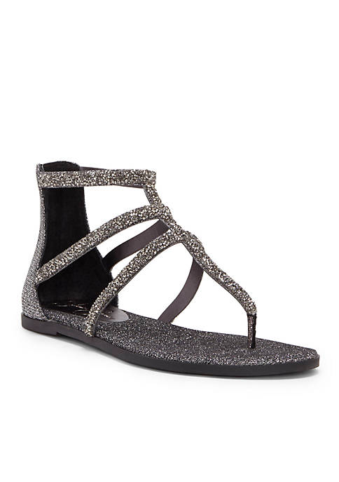 Jessica Simpson Jeweled Strappy Flat Sandal