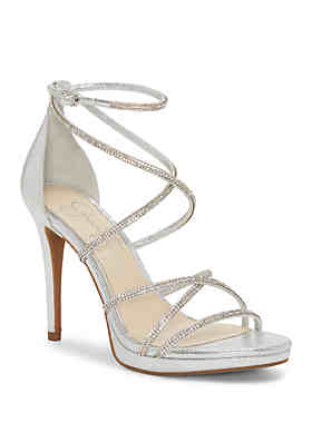 low priced 847bb bcfae Jessica Simpson Strappy High Heel ...