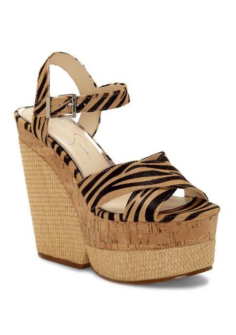 Jessica Simpson Jirie 2 Platform Sandals