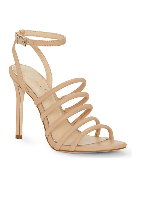 Jessica Simpson Strappy High Heel With Ankle Strap