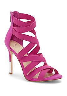 Jessica Simpson Jyra Pink Strappy Heels