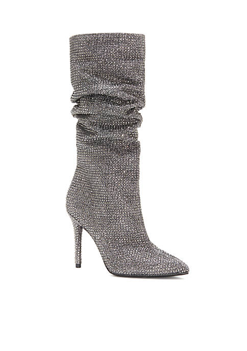Jessica Simpson Mid Scrunch Sparkle Boot