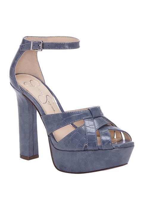 Jessica Simpson Mishka Platform Heels