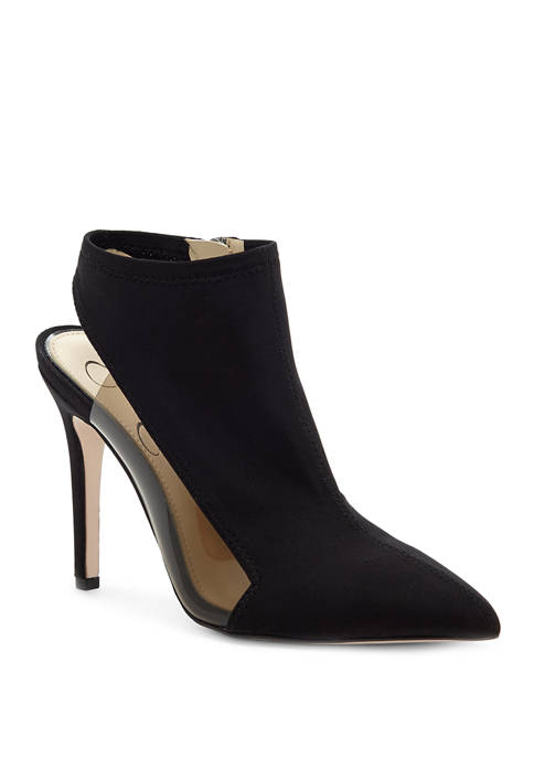 Jessica Simpson Pimrah Sling Back Heel Booties