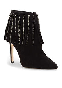 Pointed Toe Fringe Bootie