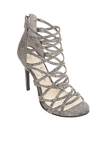 Jessica Simpson Criss Cross Sparkle High Heel BjOHPE0