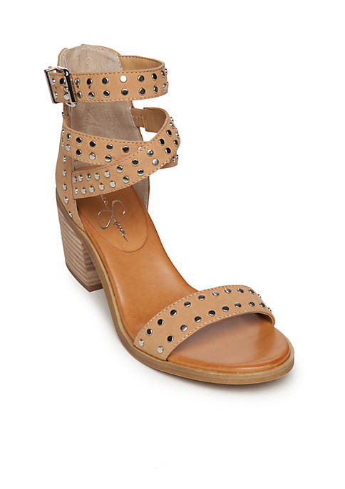 Oksanaa Block Heel Sandal