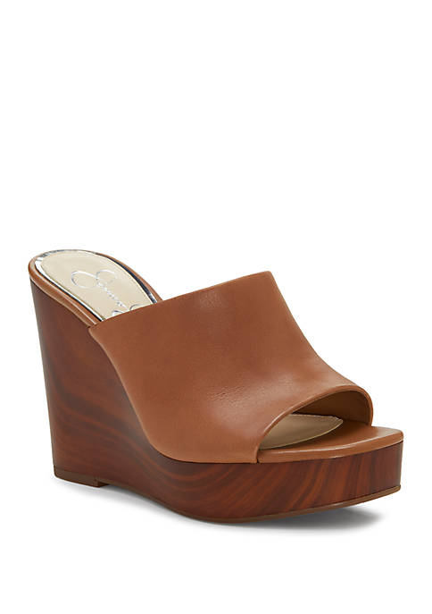 Jessica Simpson Shantelle Wedge Slide Sandals