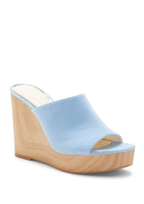 Shantelle Wedge Slide Sandals