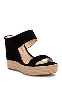 Jessica Simpson Siera Espadrille Wedge Sandals