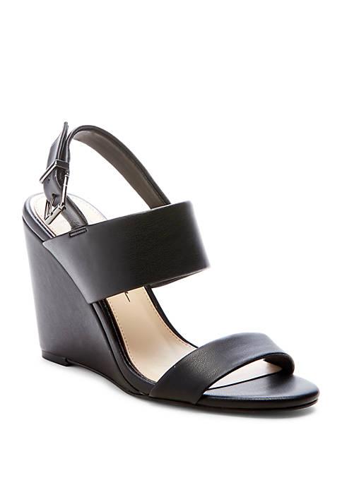 Wyra Slingback Wedge Sandals