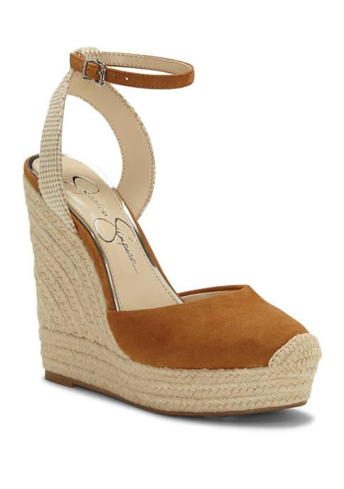 Jessica Simpson Zestah Platform Wedge Sandals