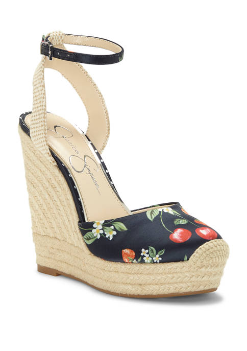 Jessica Simpson Zestah Platform Wedge Sandals
