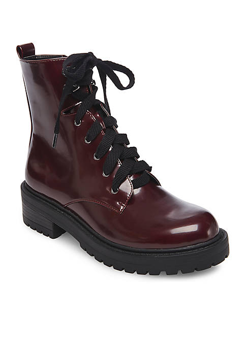 Madden Girl Alice Combat Boots