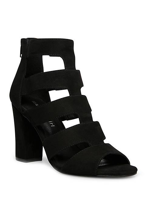 Madden Girl Juniors Boltt Strappy Block Sandals