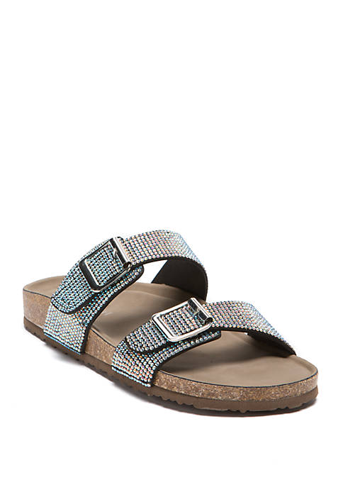 2 Strap Buckle Sandals