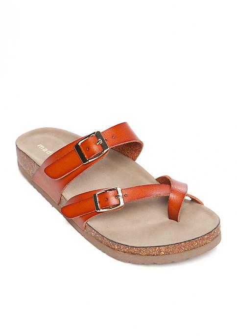 53fe290cac0a0 Madden Girl Bryceee Toe Ring Sandal