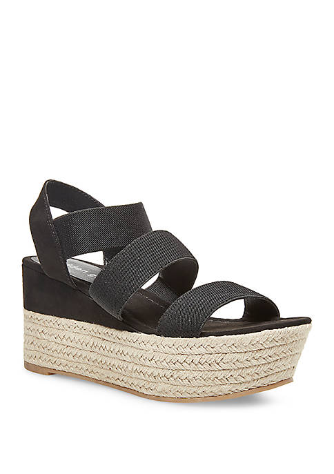 Madden Girl Cape Wedge Sandals