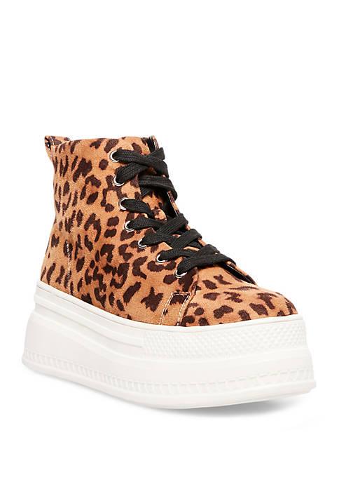 Chuckle Platform High Top Sneakers