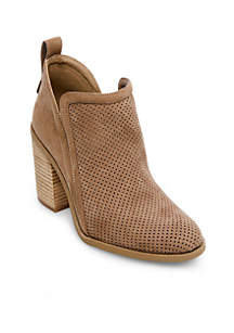 Evii Perforated Bootie
