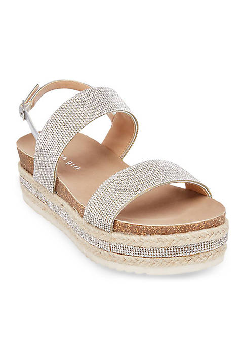 Glitzie Platform Sandal
